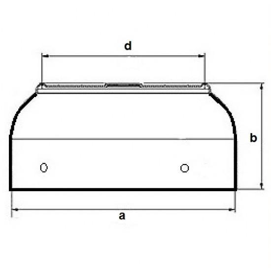 Pokrivač ventilatora ZK-100