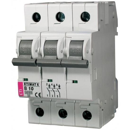 Automatski osigurač B 3p 6kA 10A ETI