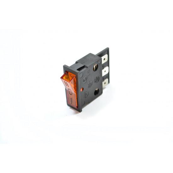 Prekidač 1-0-2 SP-400 ATB narandžasti sa tinjalicom