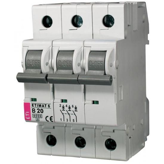 Automatski osigurač B 3p 10kA 20A ETI