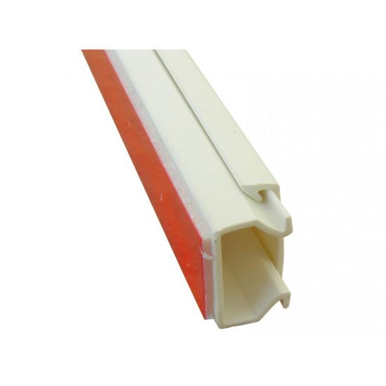 Kanalica PVC samolepljiva 16X16X2000 M-T