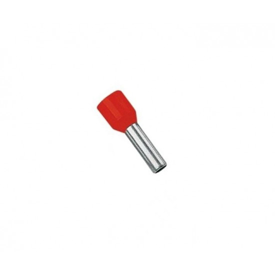 Hilzna izolovana za licnasti provodnik 1.5mm CRVENA