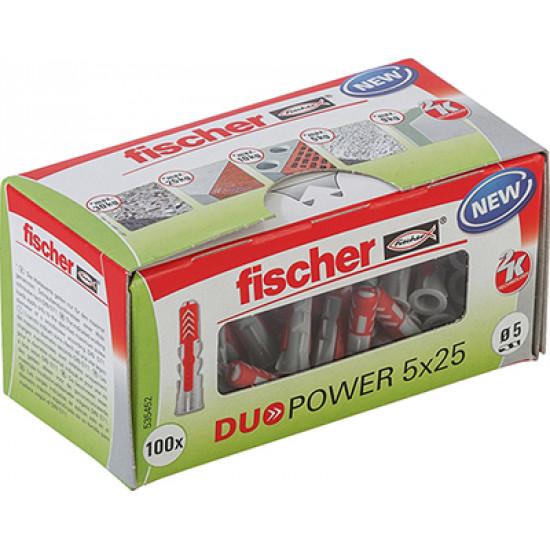 Tipl plastični Duopower 5x25 535452 Fischer