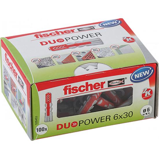 Tipl plastični Duopower 6x30 535453 Fischer