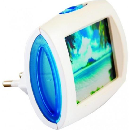Mini noćno svetlo more LED 0.4W