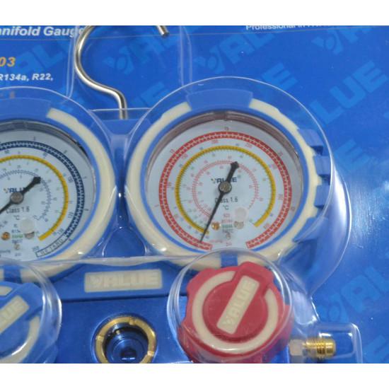 Manometri 68mm R404A-R407C-R134a-R22 Value
