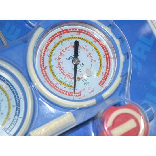 Manometri 80mm R404A-R407C-R134A-R22 Value