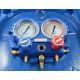 Manometri komplet 80mm R410A-R407C-R22-R134a Value