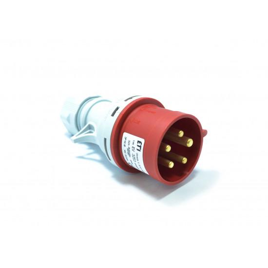 Utikač UKO - UTO 32A 3P+N+Z Eti