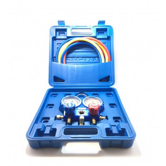 Manometri komplet 68mm R410A-R407C-R22-R134a Value
