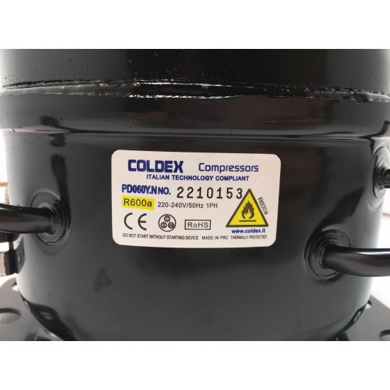 Kompresor Coldex PD060Y.N R-600a