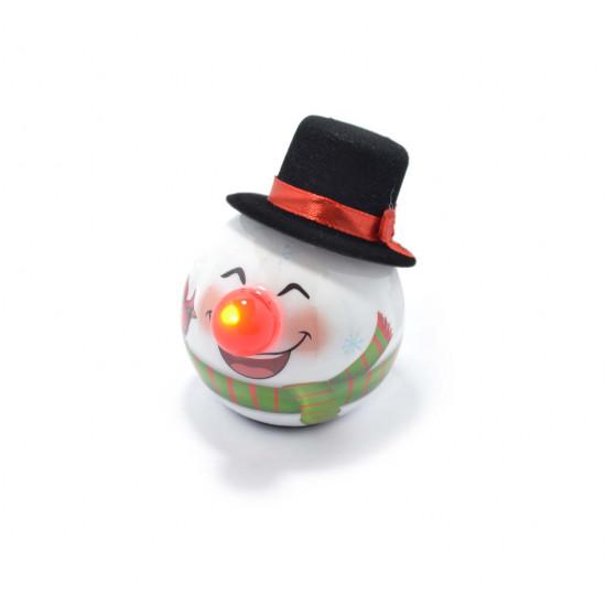 LED dekoracija za jelku Sneško