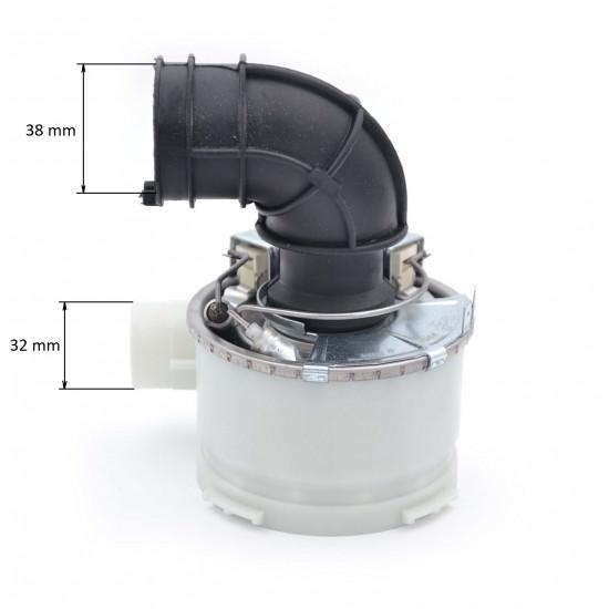 Dekl pumpe sa grejačem sudo mašine Ariston 256526