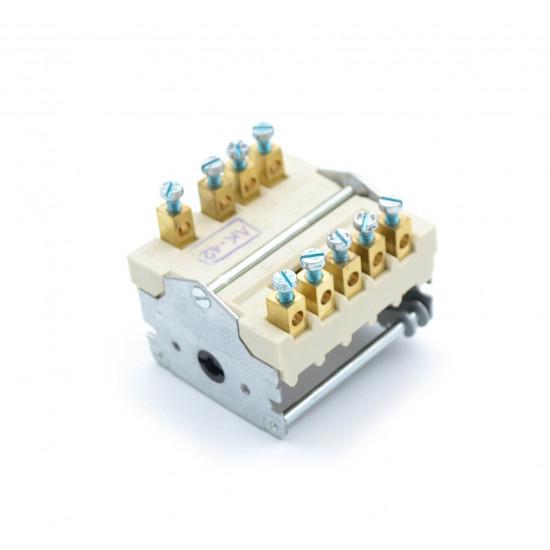 Prekidač šporeta 32A 6+0 EGO 9 kontakata