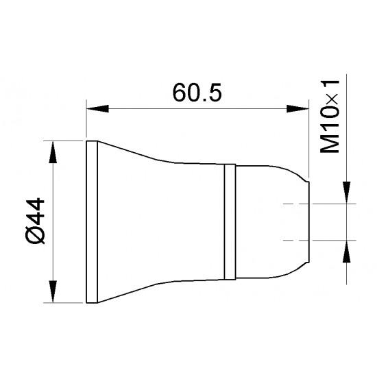 Grlo E-27 bakelitno viseće 108 Nopal