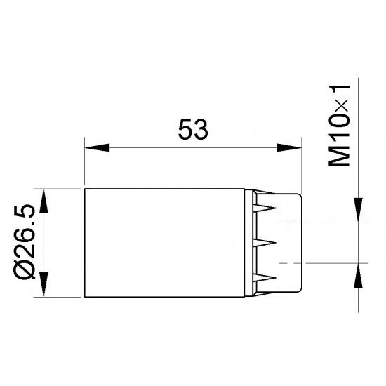 Grlo E-14 bakelitno viseće 116K Nopal