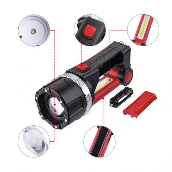 Baterijska lampa 10W punjiva Prosto