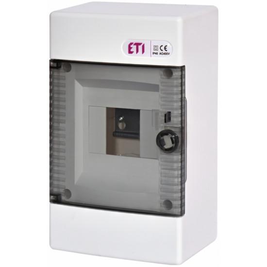 Razvodna tabla 4 osigurača nazidna ETI 001100140
