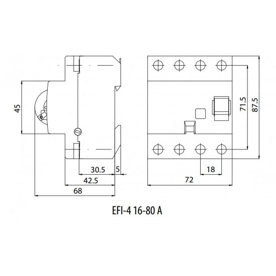 SKLOPKA FID 63/05A EFI-4 Eti